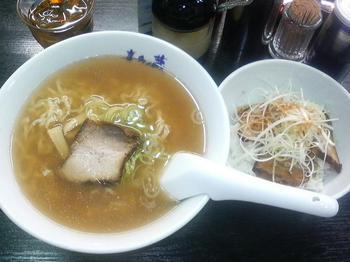 20120512-たまには外食-弘明寺の喜多の蔵で喜多方ラーメン-ラーメンとチャーシュー丼セット.jpeg