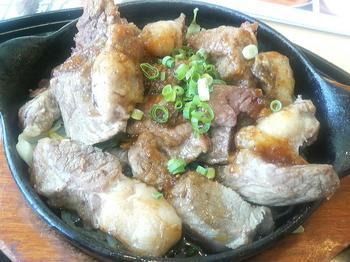 20120527-たまには外食-ガストで牛煮込み鉄板定食だぜぇ-アップ.jpeg